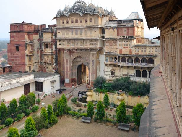 The majestic City Palace in the heart of Karauli