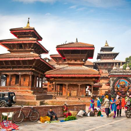 Kathmandu Durbar Square - Nepal Tours - On The Go Tours
