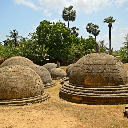 Katurogoda Ancient Vihara in Jaffna - Sri Lanka Tours - On The Go Tours