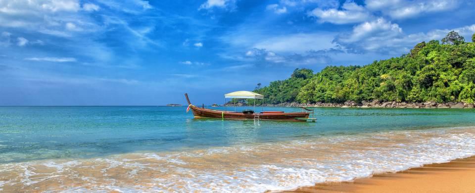 Khao Lak beach scene - On the Go Tours