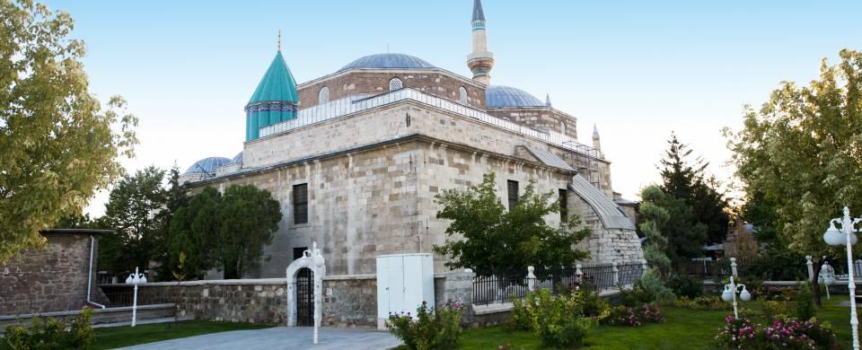 Beautiful mosque in Konya