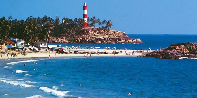 Lighthouse and beach | Kovalam | India