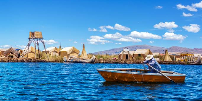 The floating Uros Islands | Lake Titicaca | Peru