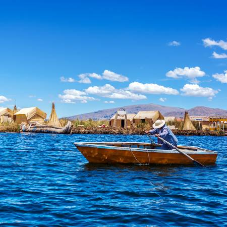 Lake Titicaca rower - Peru & Bolivia Tours - On The Go Tours