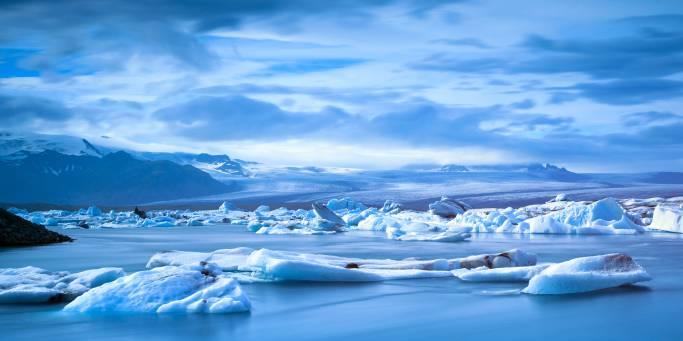 Frozen landscape | Iceland