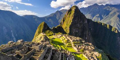 Left hand menu image - Machu Picchu