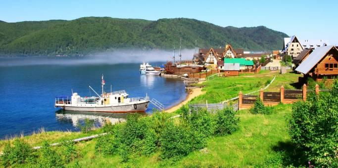 Listvyanka & Lake Baikal | Trans-siberian Railway | Russia