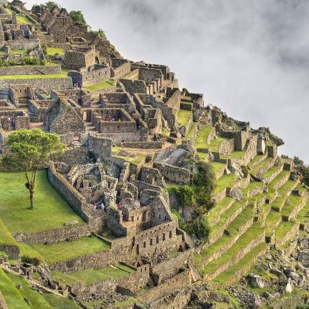 Machu Picchu ruins - Peru Day Tours - On The Go Tours