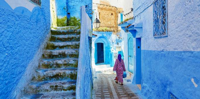 Magical Morocco main Image - Chefchaouen Blue City - Morocco