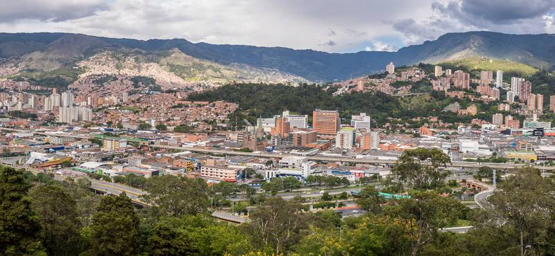See the sights of Medellin in Colombia on one of our day tours