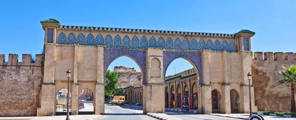 Ancient gate in Meknes