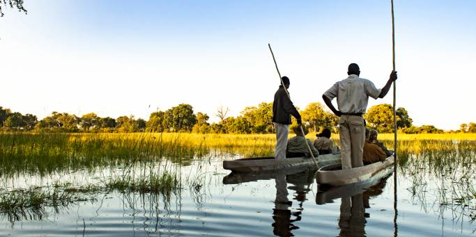 Mokoro Polers - Botswana - On The Go Tours