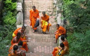 Monks in Luang Prabang | Laos | Southeast Asia