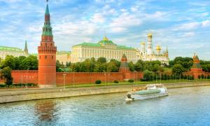 Moscow Kremlin at sunset - Russia Tours - On The Go Tours