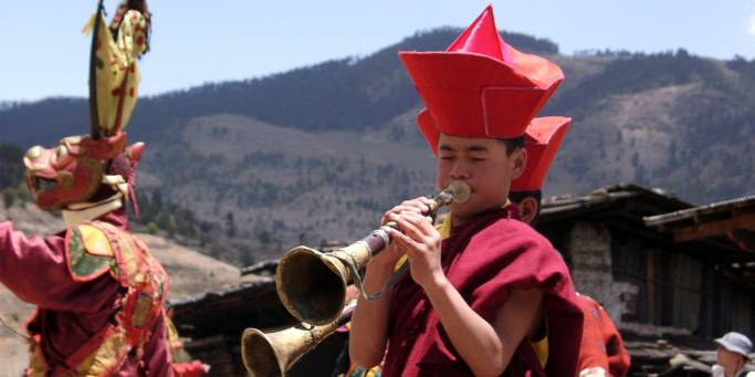 Buddhist monk | Bhutan