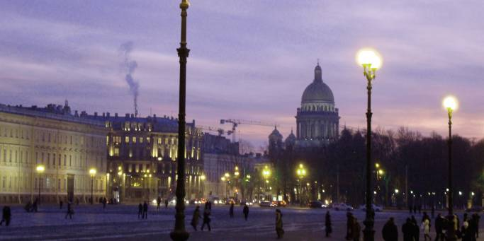 St Petersburg by night   Russia