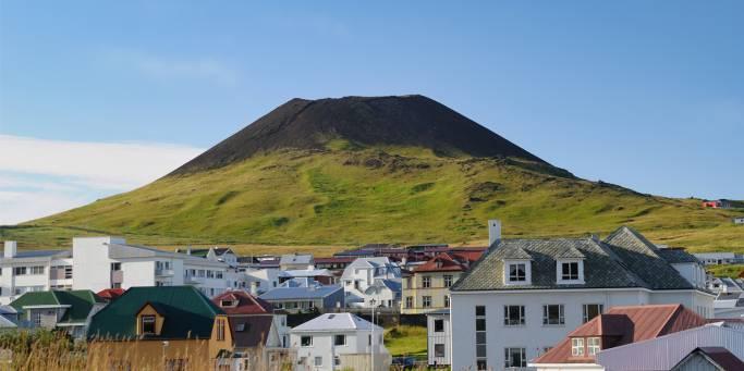 Eldfell Volcano | Heimaey | Westman Islands | Iceland
