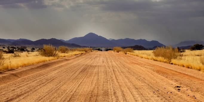 Road in northern Namibia | Africa