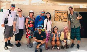 On The Go group at the tomb of King Tutankhamun - Egypt - On The Go Tours