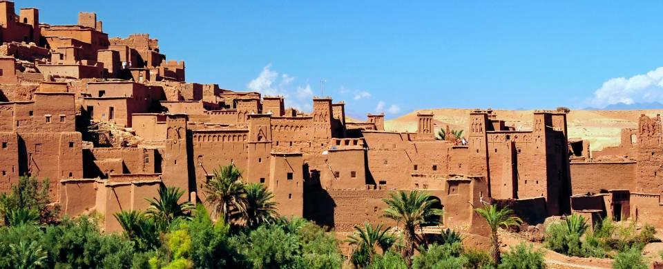 City walls of Ouarzazate