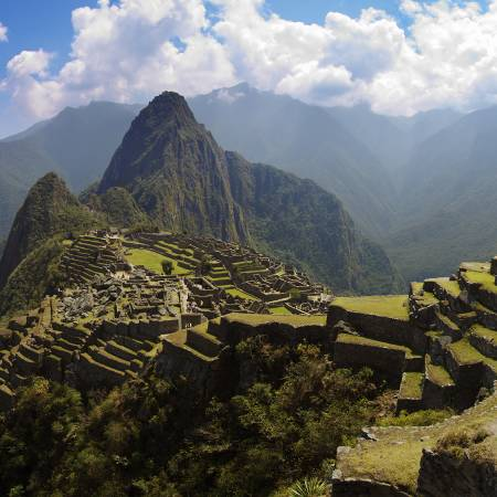 Panoramic view of Machu Picchu in Peru - On The Go Tours