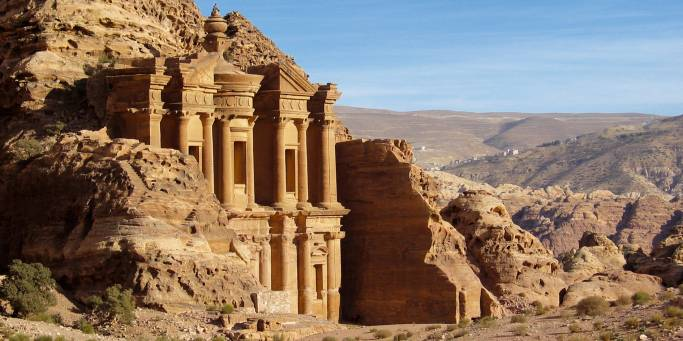 Visit the Monastery in Petra on our Jordan tours