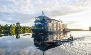 Peru Iquitos Amazon Cruise Main Image- Aria Amazon- Peru Tours