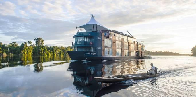 Aria Amazon jungle cruise   Peru   South America