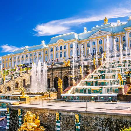 Peterhof Palace - Russia Tours - On The Go Tours
