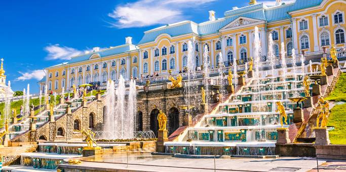 Peterhof Palace | St Petersburg | Russia