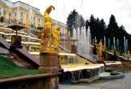 Peterhof fountains