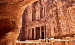 Petra Treasury - Jordan Tours - On The Go Tours copy