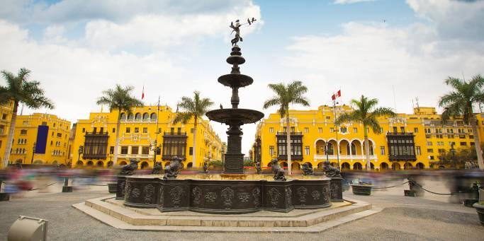 Plaza Mayor in Lima | Peru | South America