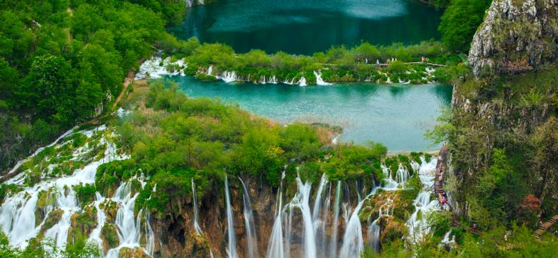 Waterfalls in Plitvice National Park | Croatia
