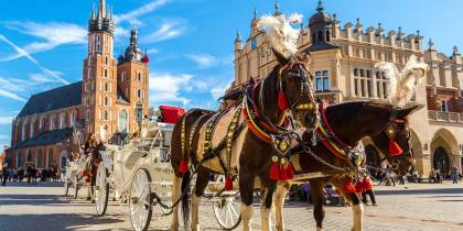Poland - Main Country Image - Krakow - Horses