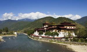 Punakha Monastery in Bhutan - On The Go Tours