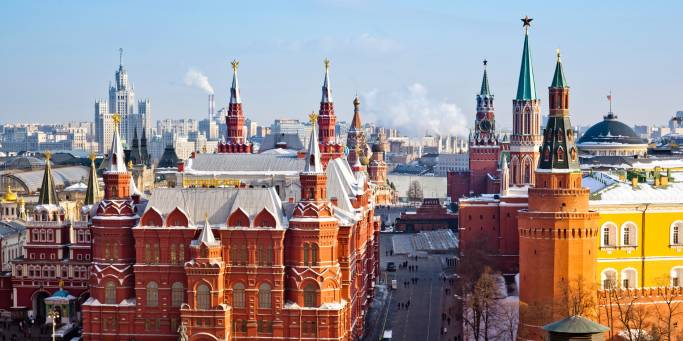 Overlooking Red Square | Moscow | Russia