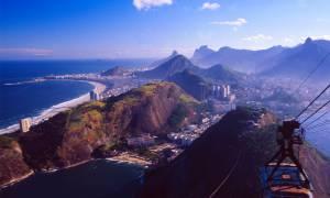 Rio de Janiero city scape in Brazil
