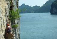 Rock climbing in Halong Bay | Vietnam | Southeast Asia