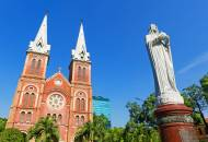 Notre Dame Cathedral in Saigon | Vietnam | Southeast Asia