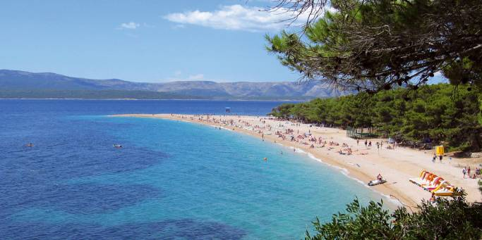 Zlatni Rat beach | Brac | Croatia
