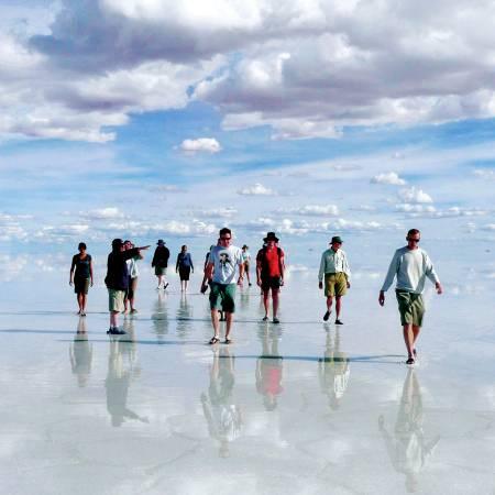 Salar de uyuni-salt flats-Bolivia-primary