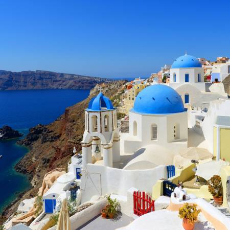 Santorini - Best places to visit in Greece - On The Go Tours
