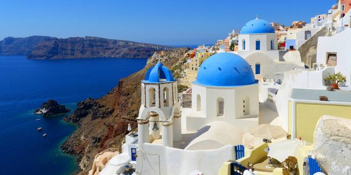 Santorini is one of the best places to visit in Greece