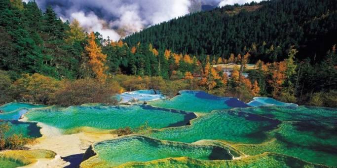 Travertine pools | Sichuan | China