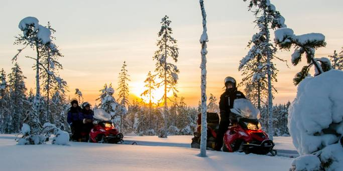 Snowmobiling - Finland - On The Go Tours 2