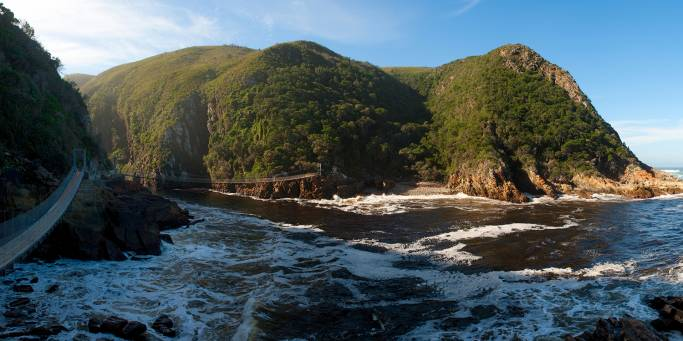 Storms River Mouth in Tsitsikamma | South Africa | Africa