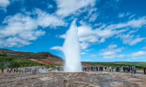 Strokkur Eruption Summer 2