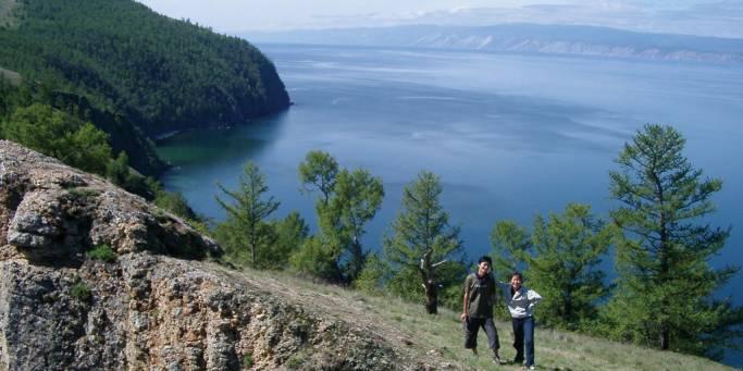 Trekking along Lake Baikal  | Trans-siberian Railway | Russia