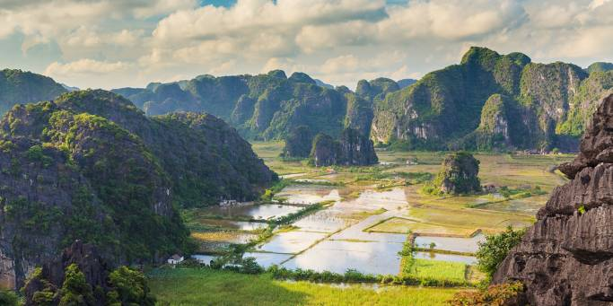 The beautiful landscape of Tam Coc | Vietnam | On The Go Tours